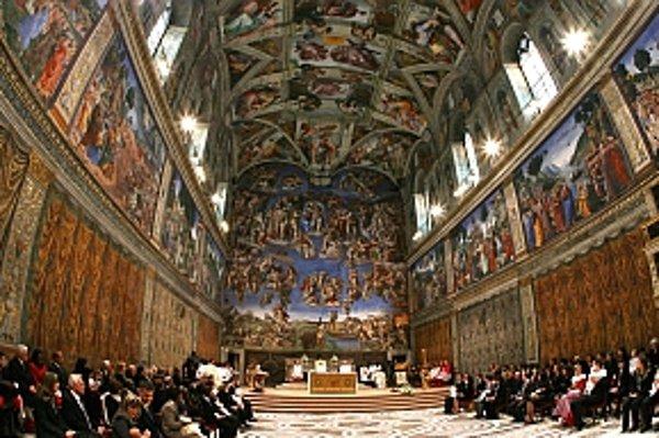 Freska Oddelenie svetla od tmy v Sixtínskej kaplnke má ukrývať časť ľudského mozgu.