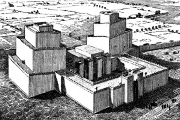 Takto nejako mohol vyzerať Aššur pred 4-tisíc rokmi.