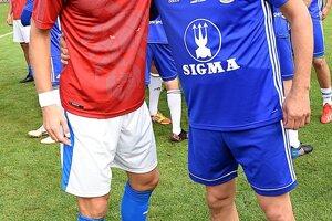 Spoločná fotografia s Davidom Rozehnalom, bývalým hráčom Paríža Saint Germain, Newcastlu, či Lazia Rím.