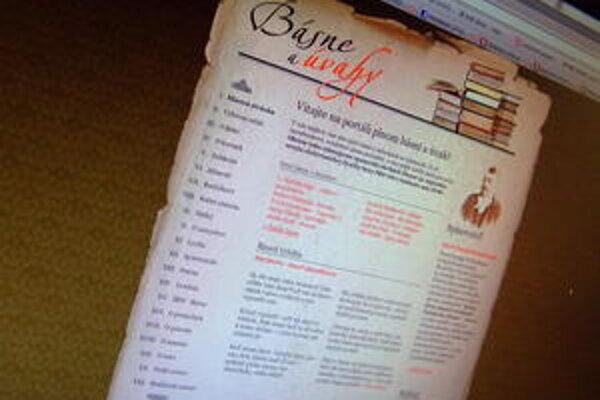 Web stránka basne-portal.sk je v podozrení, že minimálne časť svojho obsahu prevzala zo Zlatého fondu denníka SME (zlatyfond.sme.sk). Prevzala tak a spoplatnila obsah, ktorý je v bezplatnej online knižnici ponúkaný zadarmo.