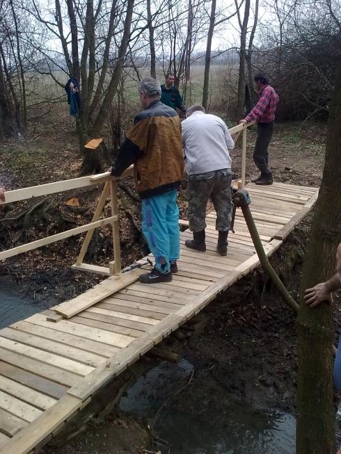 mostík nový