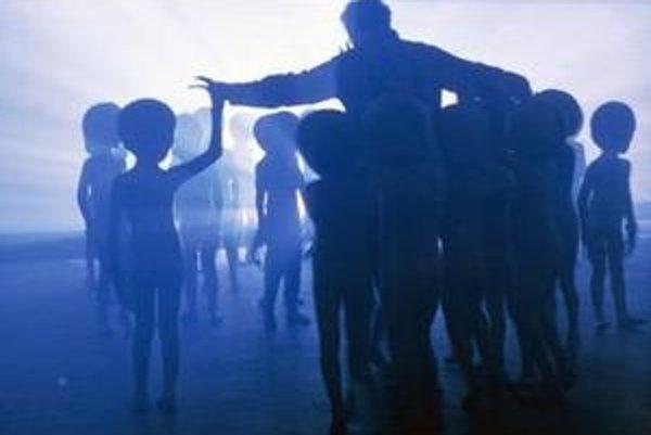 Záber z filmu Blízke stretnutie tretieho druhu.