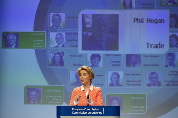 Von der Leyenová predstavila budúcu eurokomisiu.
