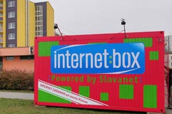 Prešovčania majú Internetbox v blízkosti MHD zastávky