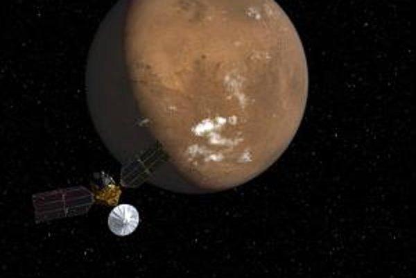Americká sonda Mars Reconnaissance Orbiter.