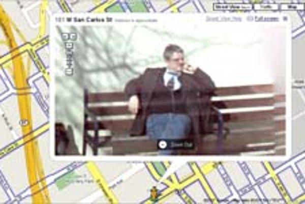 Google StreetView vidí všetko.