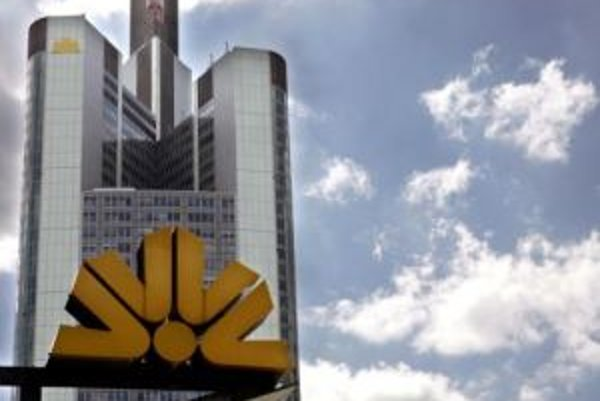 Sídlo Commerzbank vo Frankfurte nad Mohanom.