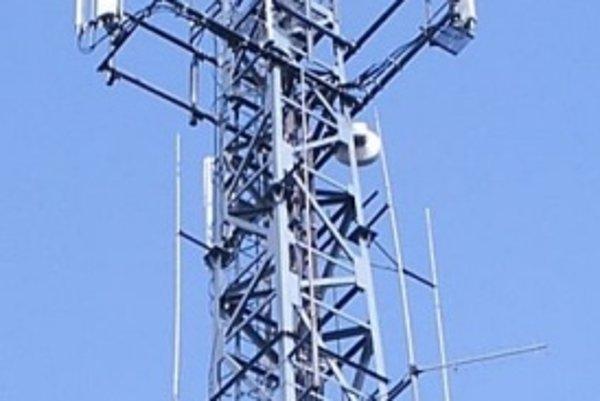 Základňová stanica siete GSM.