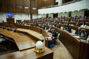 Plénum Národnej rady SR.