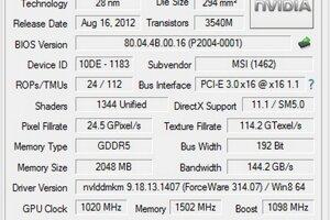 Grafická karta GeForce GTX 660 Ti patrí do vyššej strednej triedy. Má 1344 Cuda jadier, 192-bit zbernicu a maximálnu pracovnú frekvenciu 1098 MHz. Vhodná je pre hranie graficky náročných hier do rozlíšenia 1920×1080 bodov.
