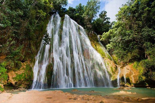Dominikánska republika - vodopád