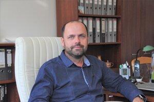Milan Brna, nový prednosta Mestského úradu v Turčianskych Tepliciach.