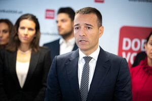 Predseda novovzniknutej politickej strany Dobrá voľba Tomáš Drucker.