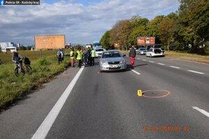 Škoda na aute bola vyčíslená na 500 eur.