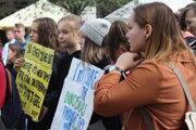 Klimaštrajk: Za budúcnosť nás všetkých - Žilina