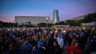 List od Kuciakovcov, výzva Kováčikovi, aktivisti aj herci - protest Za slušné Slovensko
