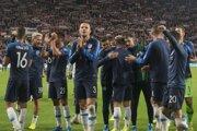 Momentka zo zápasu Maďarsko - Slovensko v kvalifikácii na EURO 2020.