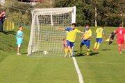 Gólová radosť japonského legionára Hayashiho po treťom góle Tvrdošína.