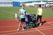 Juraj Lešňovský vytvoril tohtoročný slovenský rekord v kategórii mladšieho žiactva.