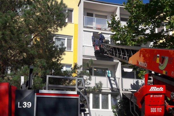Zásah hasičov prišiel v poslednej chvíli.