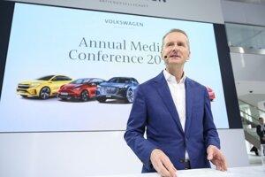 Šéf nemeckej automobilky Volkswagen Herbert Diess.