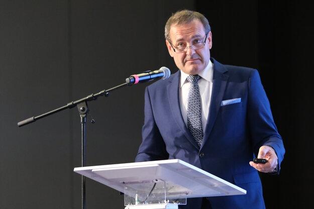 Pavol Kováčik, prezident Zväzu stavebných podnikateľov.