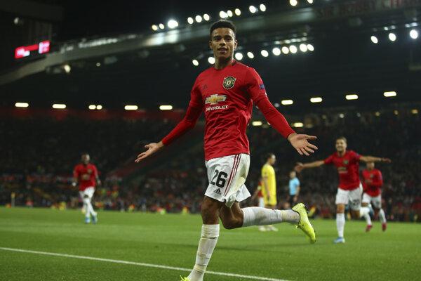 Mason Greenwood z Manchester United.