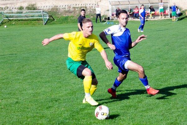 Zápas medzi Močenkom a Brančom.