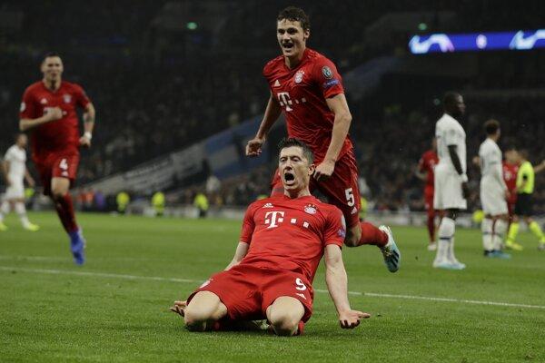 Robert Lewandowski z Bayernu Mníchov.
