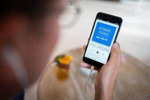 Podcast Dobré ráno v aplikácii Apple podcasty.