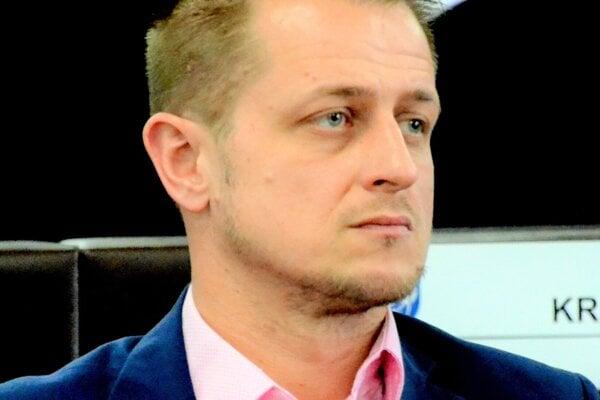 Poslanec Martin Kalnický.