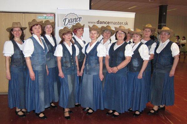 Country skupina Márgit z Margecian na podujatí Dance Master.