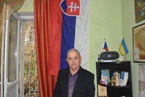 Ivan Latko - predseda Užhorodského spolku Slovákov.