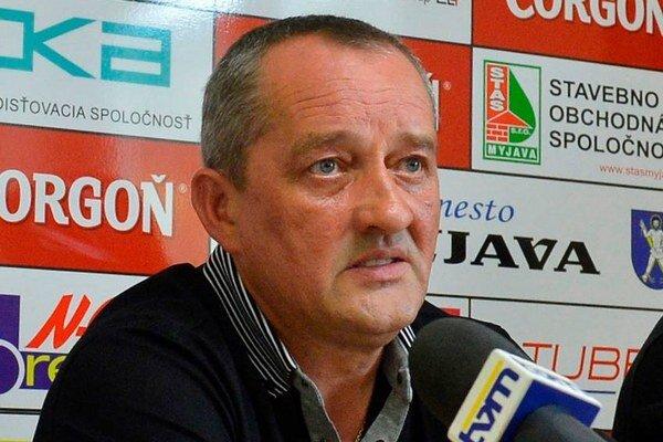 Prezident Spartaka Myjava Pavel Halabrín.