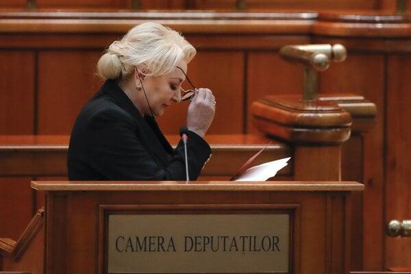 Rumusnká premiérka Viorica Dancilaová.