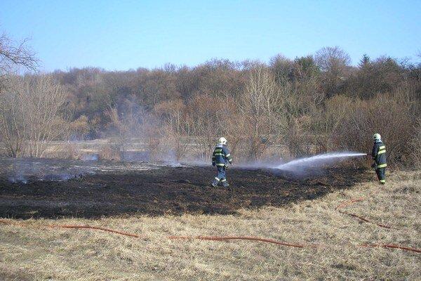 Vypaľovanie zamestnáva hasičov aj prírodu.
