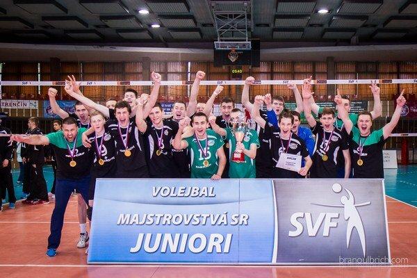 Juniori Nového Mesta sa stali majstrami Slovenska.