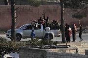 Sýrski Kurdi v nedeľu oznámili, že budú spolupracovať s vládnou armádou.