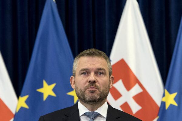 Premiér Peter Pellegrini