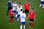 FK Turani (v červenom) nestačili na Veľké Bierovce/Opatovce.