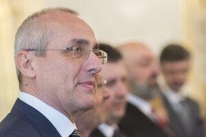 Predseda Slovenskej advokátskej komory Tomáš Borec.