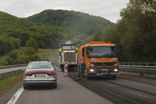 Rýchlostná cesta R1.