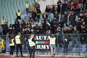 Bulharskí fanúšikovia.