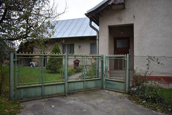Dom, v ktorom sa stala tragédia.