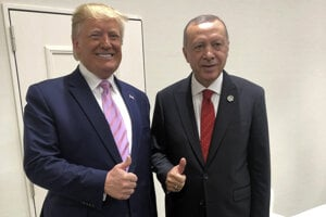 Donald Trump s Recepom Tayyipom Erdoganom.