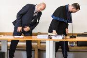Pavol Rusko a Marek Para na súde.