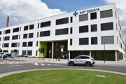 Nemocnica Svet Zdravia v Michalovciach.