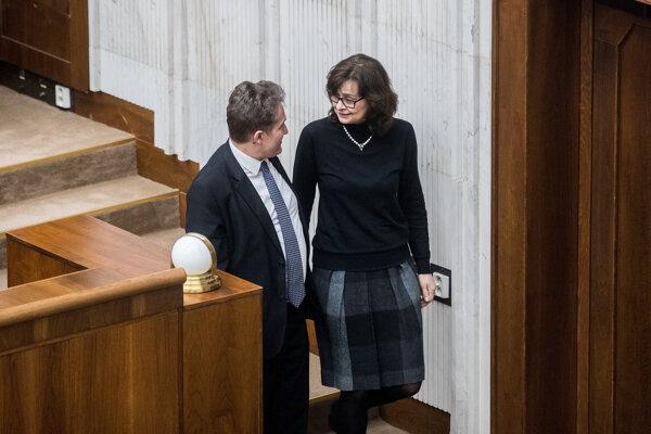 Poslankyňa NR SR Lucia Žitňanská.