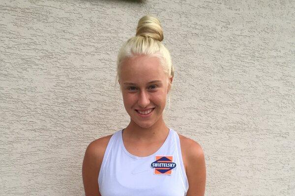 Nádejná tenistka Bianca Behúľová