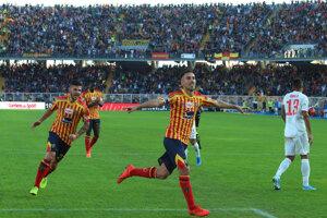 Futbalisti Lecce. (Ilustračný snímok)